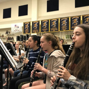 woodwinds rehearsing with Eddie Green-SQ